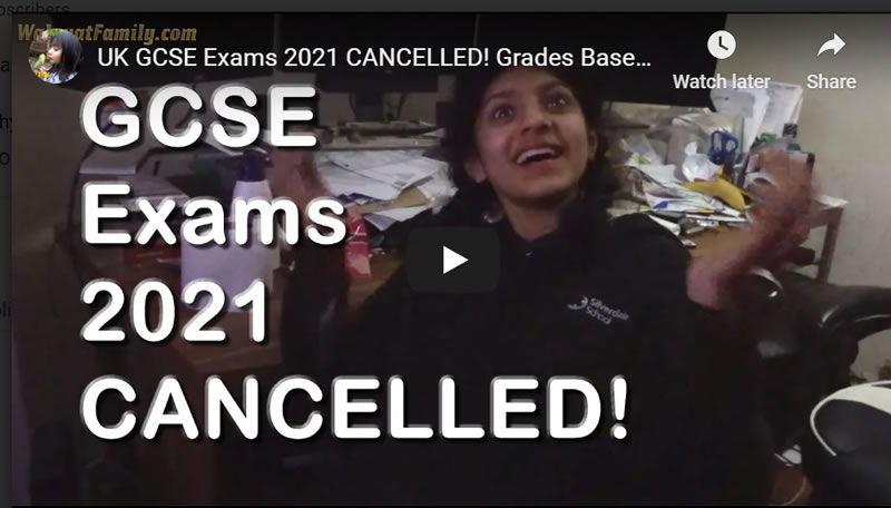 UK GCSE Exams 2021 CANCELLED! Grades Based on Mock Exams and Teacher Assessments