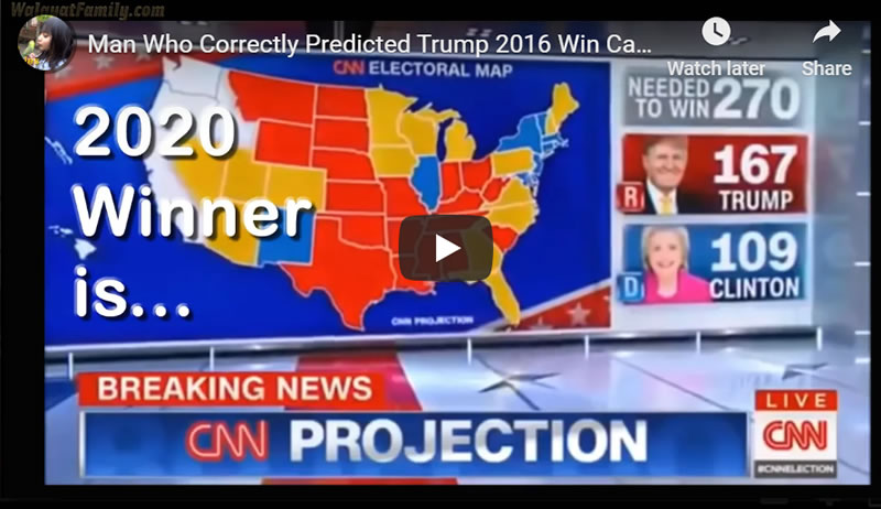 Man Who Correctly Predicted Trump 2016 Win Calls 2020 Election Result