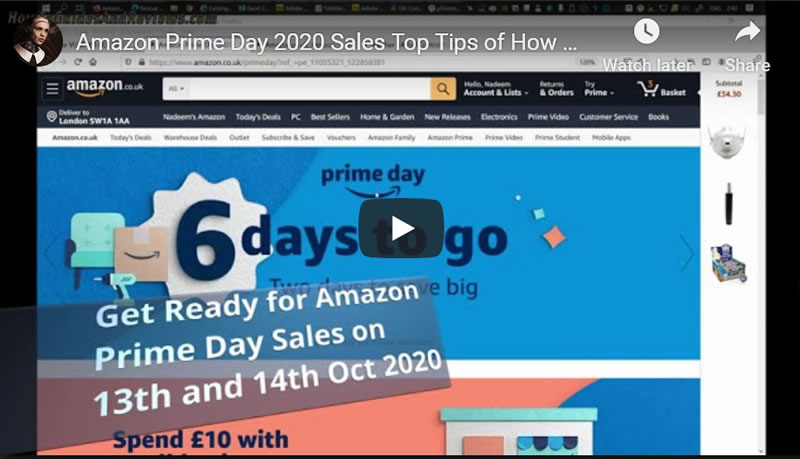 Amazon Prime Day 2020 Sales Top Tips of How To Get Big Savings!