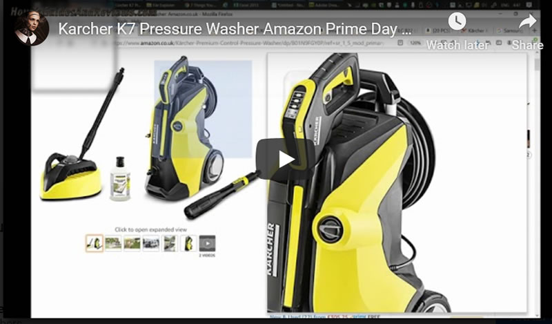 Karcher K7 Pressure Washer Amazon Prime Day Bargain 51% Discount!