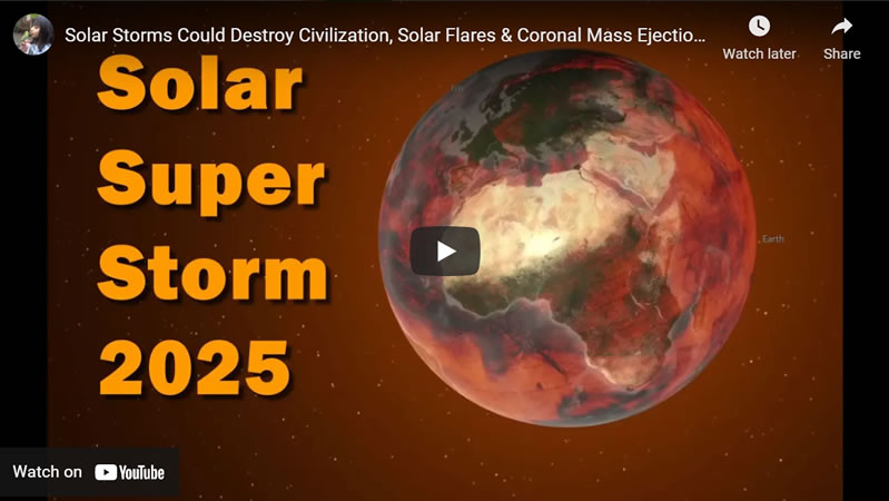 Massive Solar Storm to Hit Earth 2025, Coronal Mass Ejection (CME) Danger and Protection Solutions