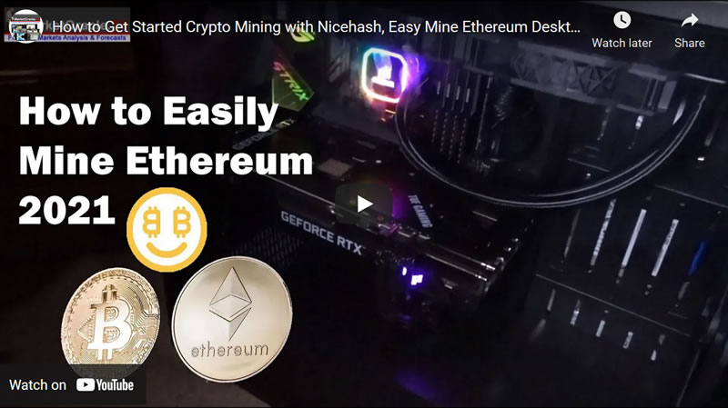How to Get Started Crypto Mining with Nicehash, Easy Mine Ethereum Desktop PC Step by Step Guide