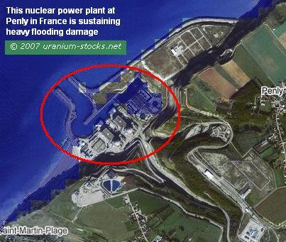 Penly France Nuclear Power Plant