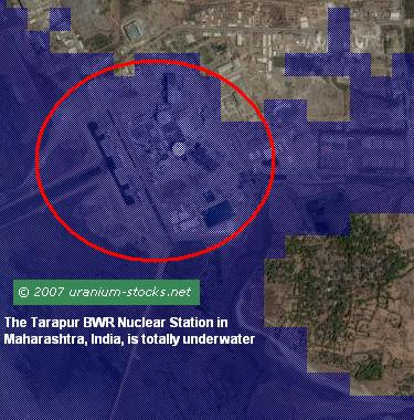 Tarapur Maharashtra India Nuclear Power Plant