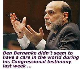 """Gentle Ben"" Bernanke Lives Up to His Name"