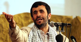 Iranian President Mahmoud Ahmadinejad has repeatedly called for the destruction of Israel.