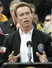Gov. Schwarzenegger just