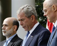 Bernanke and Bush