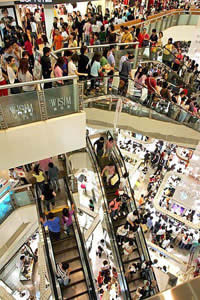 China's new middle class is on a shopping spree.