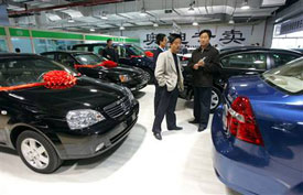 Auto sales in China surged 34 percent in May, making it the largest car market in the world.
