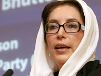 The death of Benazir Bhutto may cause geopolitical turmoil in 2008.