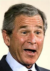 State of the Union Address by a weak lame duck President Bush