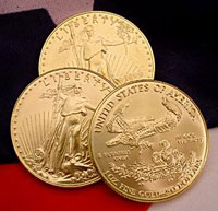 The U.S. Mint has stopped producing its 2009 American Gold Eagle proof and uncirculated coin for collectors.