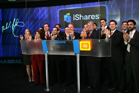 In 1996 Barclays Global Investors opened their World Equity Benchmark Shares. Later they changed the brand name to iShares.