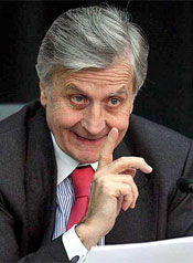 'Sharp movements in  currencies can cause adverse impacts.' — ECB president Trichet
