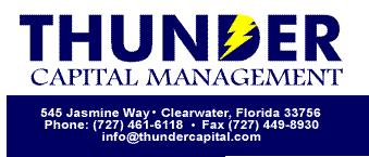 Thunder Capital Management LLC was founded in July of 1999 with the mission of creating wealth while preserving capital
