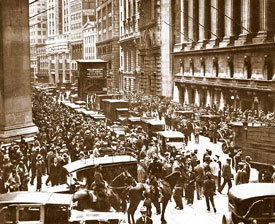 The stock market crash on Black Thursday, October 24, 1929, was just the beginning of the carnage to hit Wall Street.