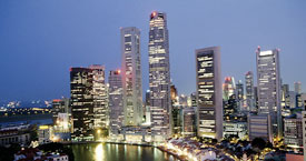 Singapore has the third highest per-capita gross domestic product in Asia, a sky-high literacy rate of 95%, and the highest standard of living in Asia.