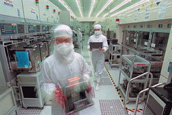 Asia's semiconductor sector is getting slammed by slowing sales.