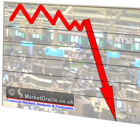 Why did the stock market crash on Monday?