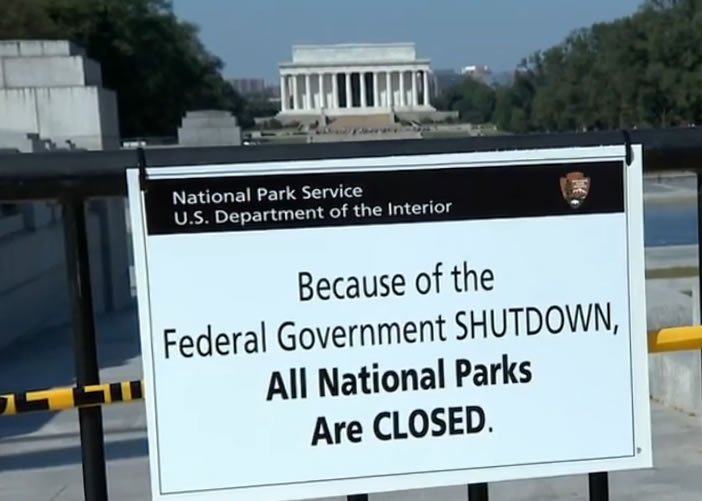federal government shut