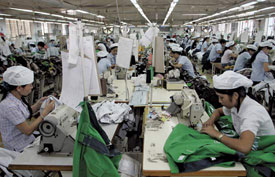 Vietnam is rapidly becoming the low-cost manufacturing center of Asia.