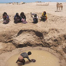 In Africa, nearly two-thirds of the population who live in rural areas, lacks an adequate water supply.