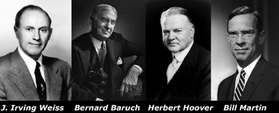 Weiss, Baruch, Hoover, and Martin