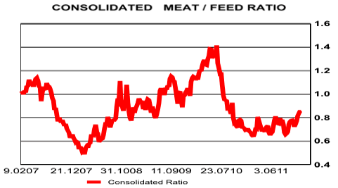 Meat-to-Feed Ratio: Feeding the Agricultural Commodities