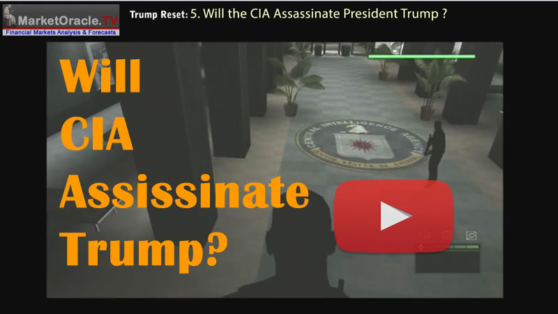 Will the CIA Assassinate Rogue President Donald Trump Like JFK?