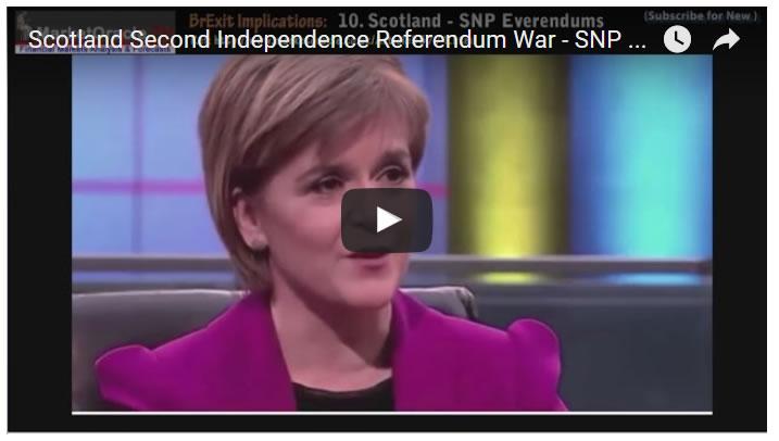 Scotland Second Independence Referendum War