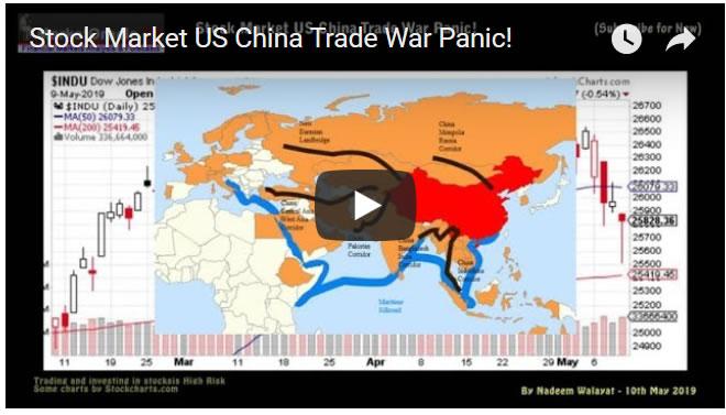 Stock Market US China Trade War Panic