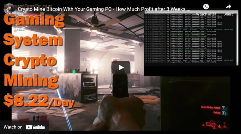 Crypto Mine Bitcoin With Your Gaming PC - How Much Profit after 3 Weeks with NiceHash, RTX 3080 GPU