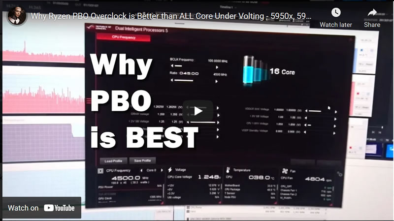 Why Ryzen PBO Overclock is Better than ALL Core Under Volting - 5950x, 5900x, 5800x, 5600x Despite Benchmarks