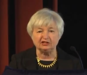 Janet Yellen, San Francisco Federal Reserve Bank's President and CEO, believes that with credibility, the Fed can constructively impact monetary policy.