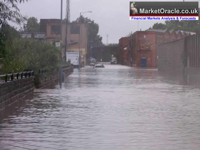 Uk Sheffield Flood Warning 2012 A Repeat Of 2007 Floods