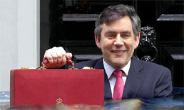 Gordon Browns Pre-budget report increases petrol by 1.25 a litre