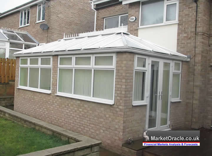 How much value does a conservatory add to your home for How much more does it cost to build a house