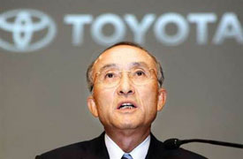 'But tough market conditions are likely to continue, and they could get worse.' —Toyota President Katsuaki Watanabe